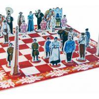 Joc d'escacs industrial i modernista